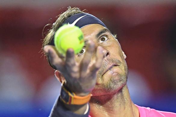 Rafael Nadal bombaformában tért vissza a salakra