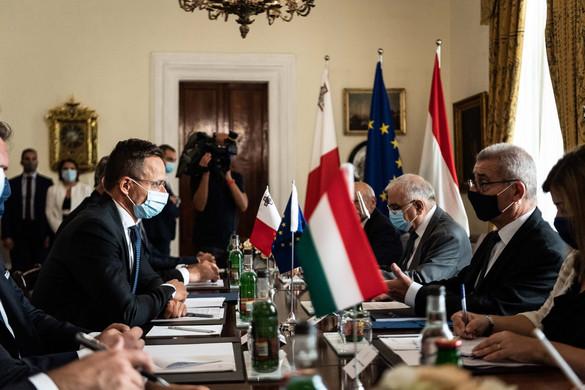 Szijjártó: Új szövetség jött létre Málta és Magyarország között