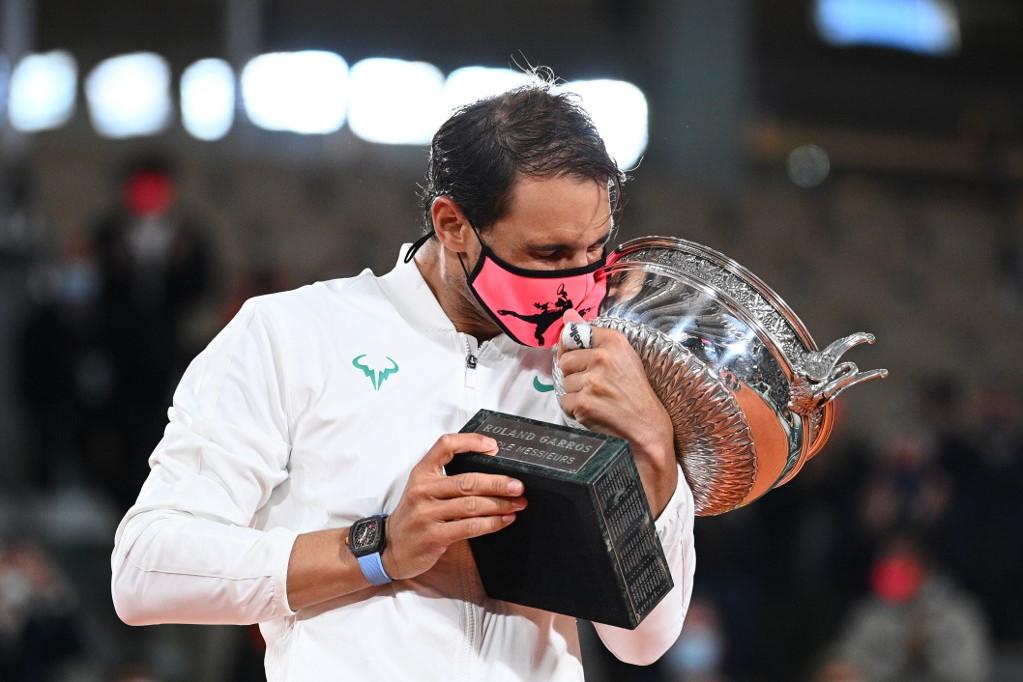 Rafael Nadal a 20. Grand Slam-trófeájával