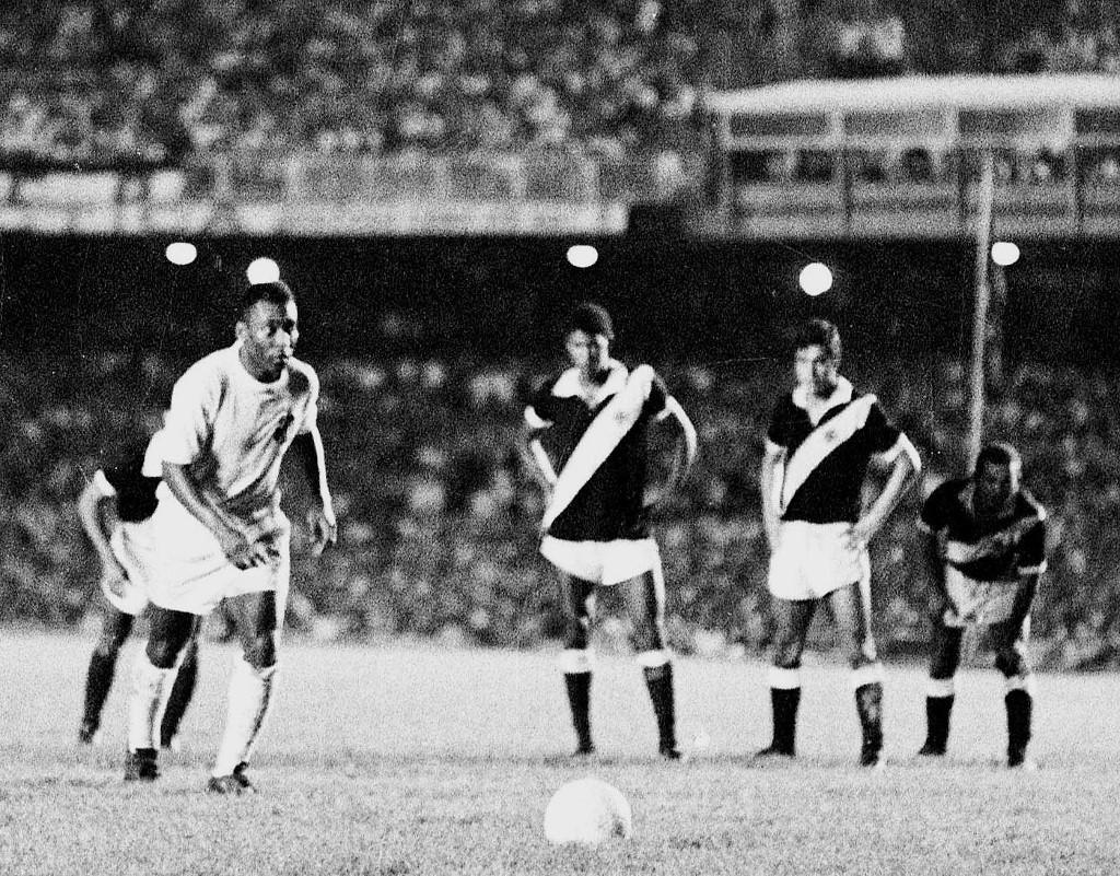 Pelé pályafutása 1000. gólját büntetőből lőtte 1969 novemberében