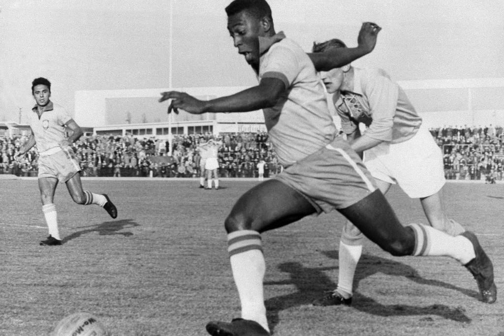 Ha Pelé lendületbe jött, kevesen tudták megállítani