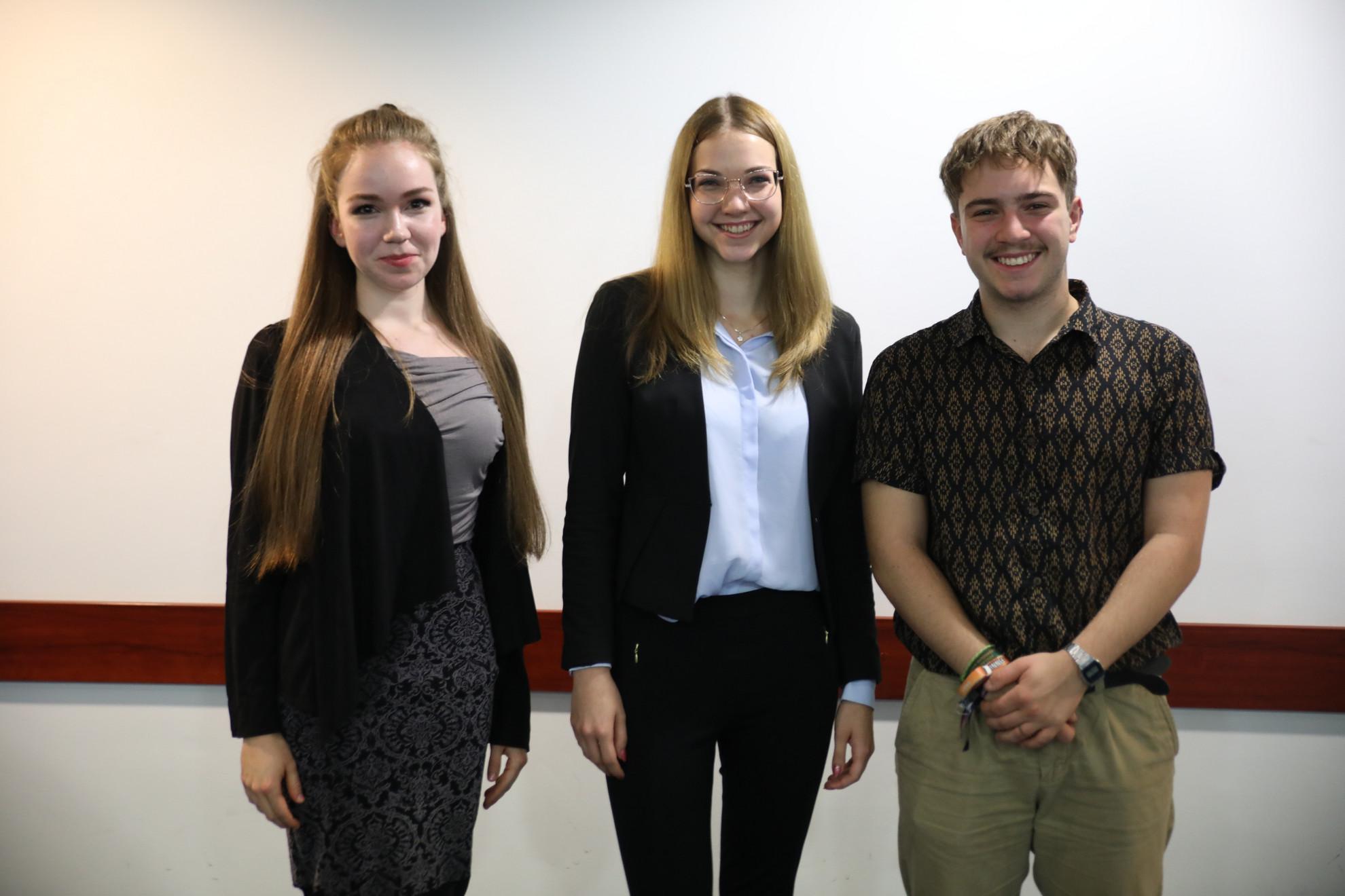 Bemutatkozik három, nemzetközi színtéren is kiemelkedően sikeres fiatal: Novák Blanka, Ecsedi Boglárka és Zsigó Miklós