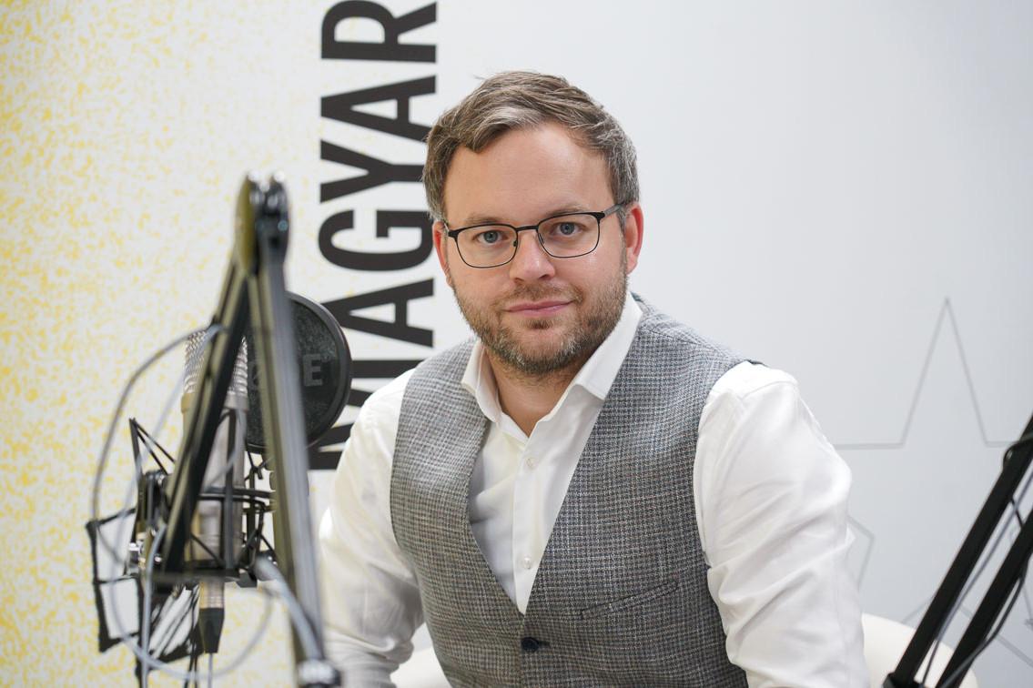 Orbán Balázs a Faktum podcast-adásának felvételén