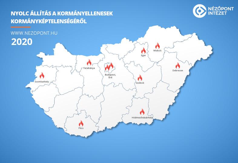 Egy év próbaidő után a balliberális önkormányzatok