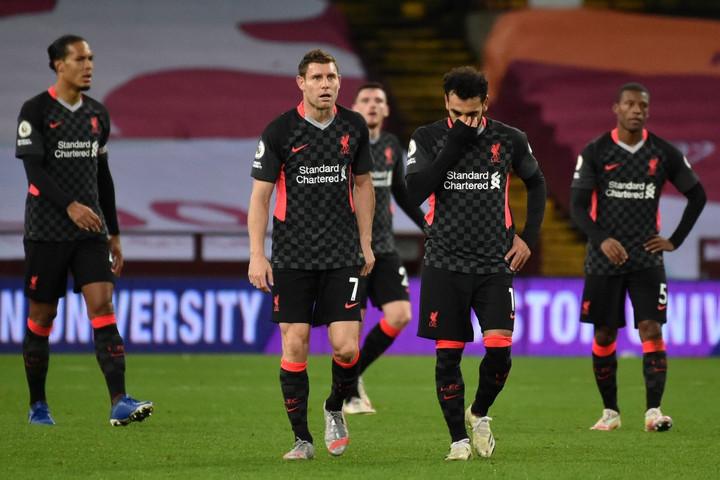 Brutális pofonba szaladt bele a Liverpool