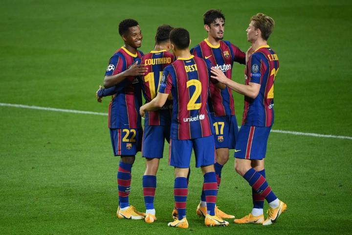 A végére bedarálta a Fradit a Barcelona