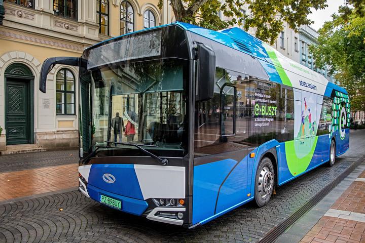 Zöldbuszok érkeznek a nagyvárosokba
