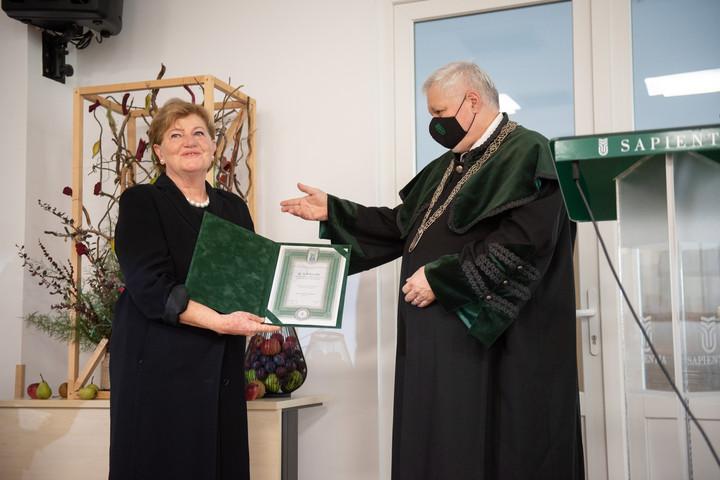 Kitüntették Szili Katalint Marosvásárhelyen
