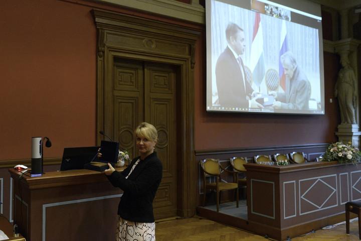 Jurij Pavlovics Guszev kapta az idei Balassi műfordítói nagydíjat