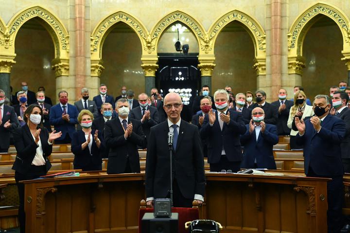 Megválasztották Varga Zsolt Andrást a Kúria elnökének