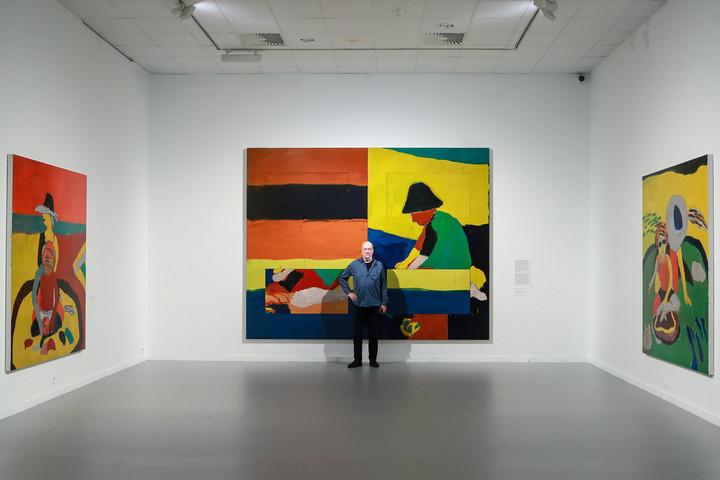 Szerdától látható Sean Scully retrospektív kiállítása