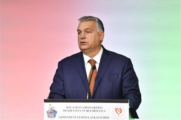 Orbán: Az egyházi intézményeknek adott állami pénz a legjobb helyre kerül
