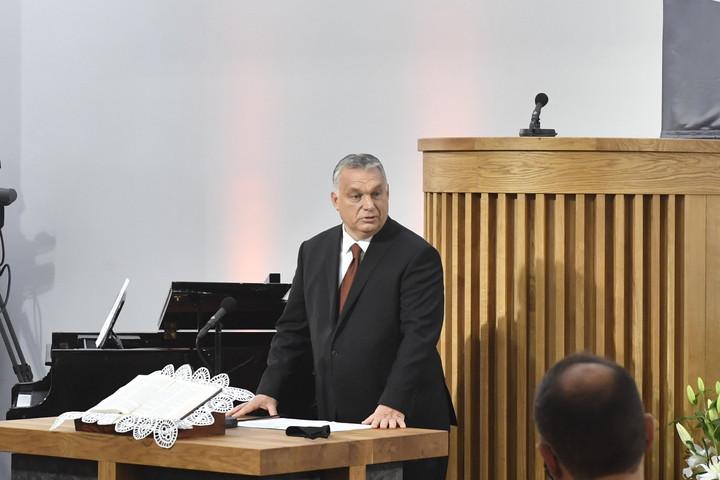 Orbán: Ezután is készek vagyunk a református egyház mellett állni