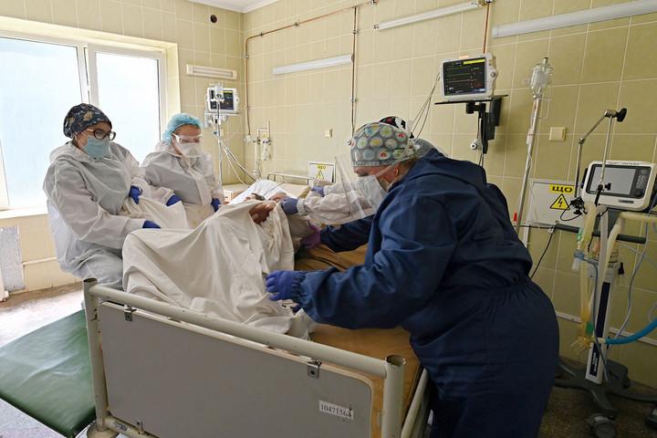 Ukrajnában lassul a járvány terjedése