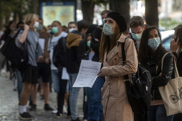 Újabb 3286 magyar állampolgárnál mutatták ki a koronavírus-fertőzést