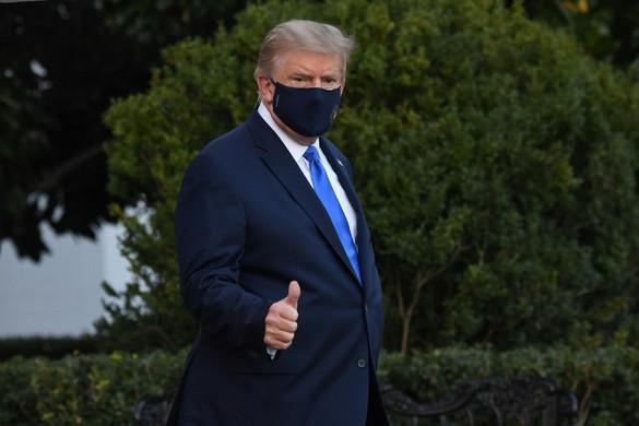 Trump közölte, hogy jól van
