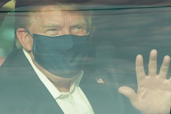 Már hétfőn kiengedhetik a kórházból Donald Trumpot