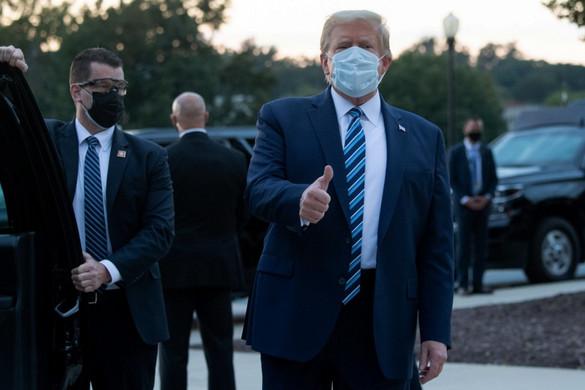 Orvosai szerint Donald Trump teljesen tünetmentes