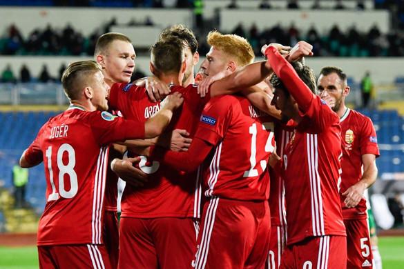 Óriási magyar győzelem Bulgáriában, egy lépésre a labdarúgó EB-részvételtől a válogatott