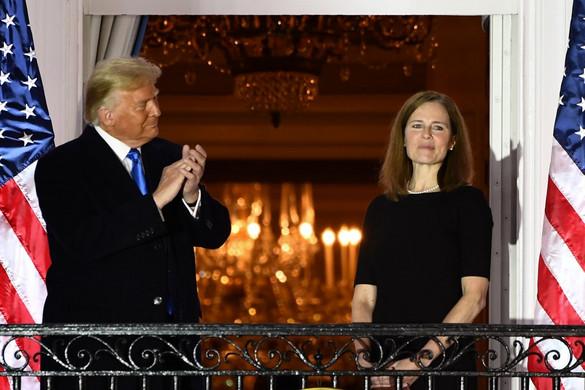 Trump nagy sikere: Újabb konzervatív alkotmánybíró tett esküt