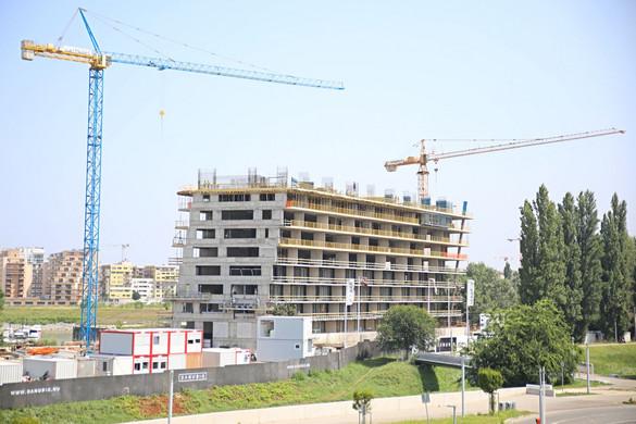 Lendületben az építkezések