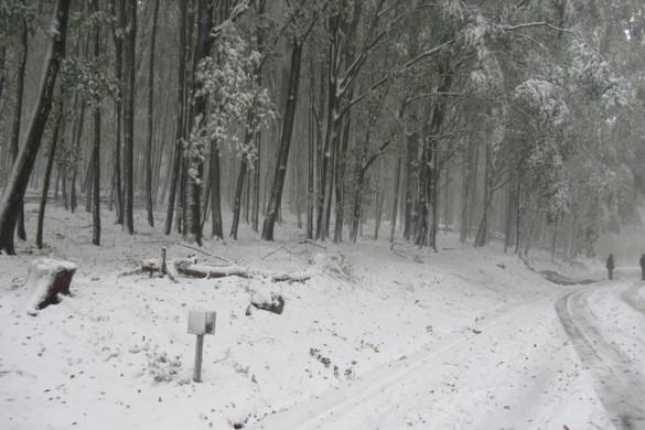 Beköszöntött a télies idő: már több 10 centis hóréteg van Kékestetőn