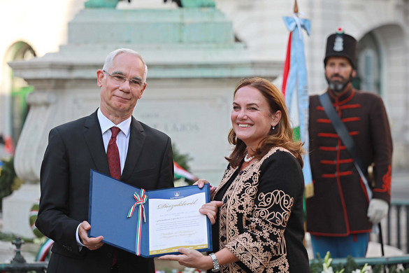 Balog Zoltán kapta a gróf Batthyány Lajos-díjat