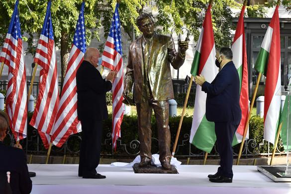 Orbán: Minden magyar tudja, hogy Amerika a szabadság földje