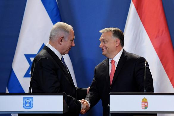 Netanjahu köszönetet mondott Orbán Viktornak