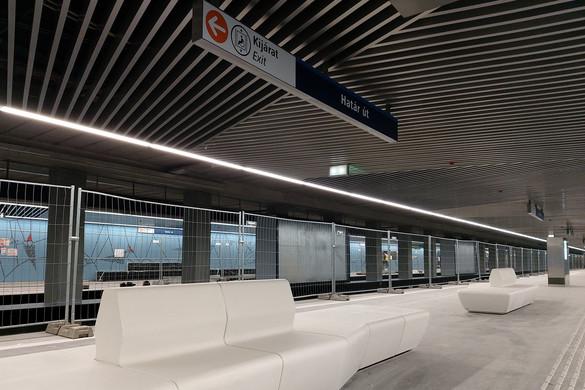 Október 22-én átadják az M3-as metró felújított, déli szakaszát