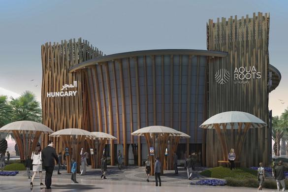 Egy év múlva már látogatókat fogad a dubaji expón a magyar pavilon