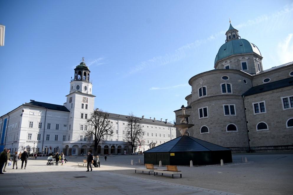 Salzburgban is szinte kiürültek az utcák a korlátozások hatására