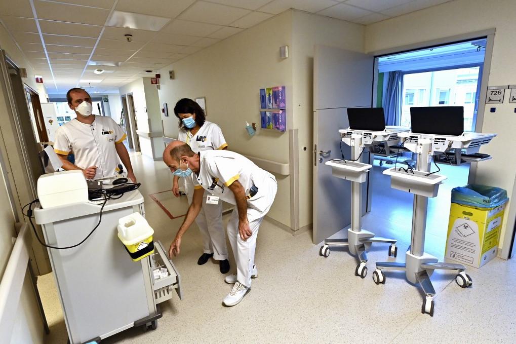 Belgium összeomlik az egészségügy