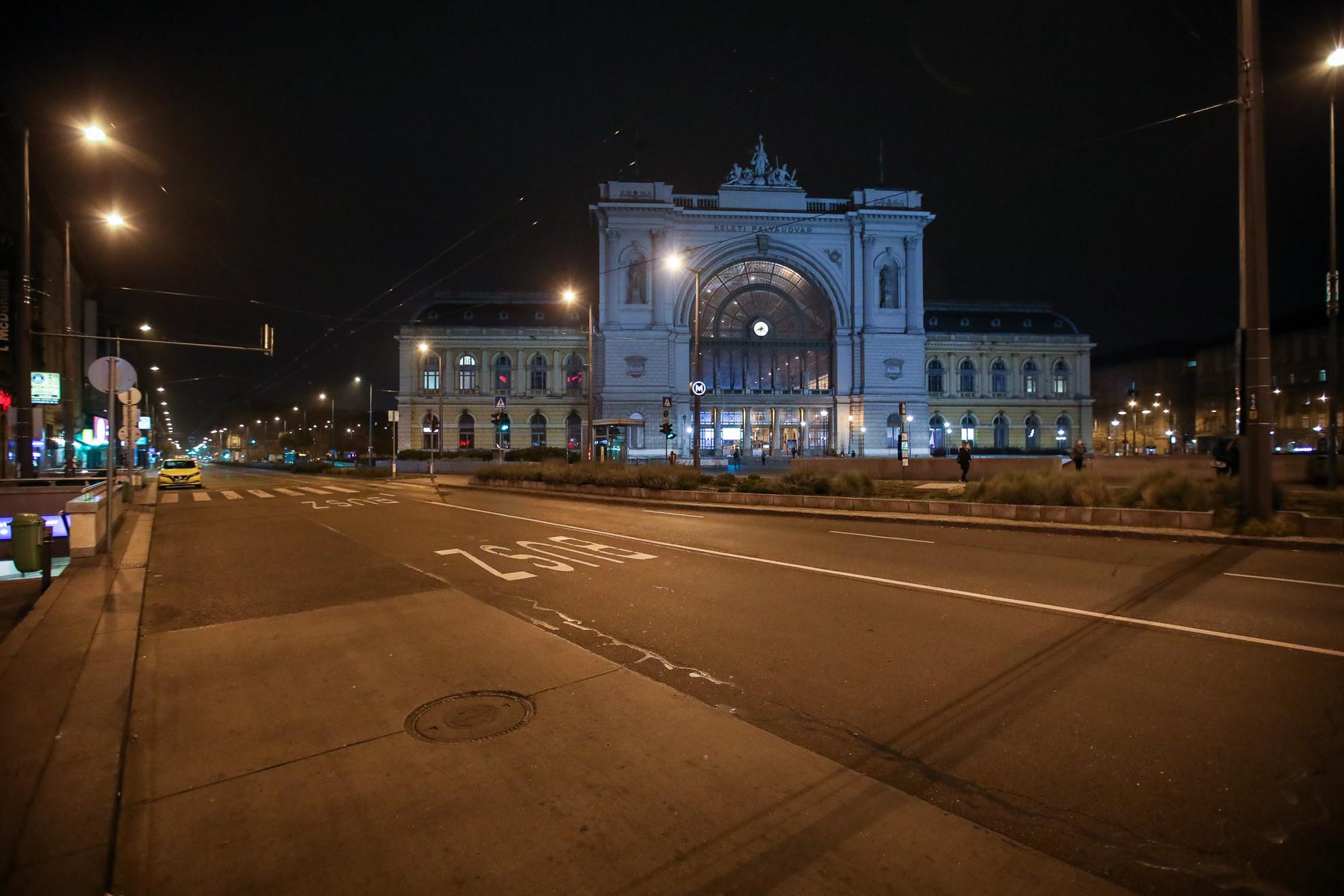 Baross tér - Keleti Pályaudvar