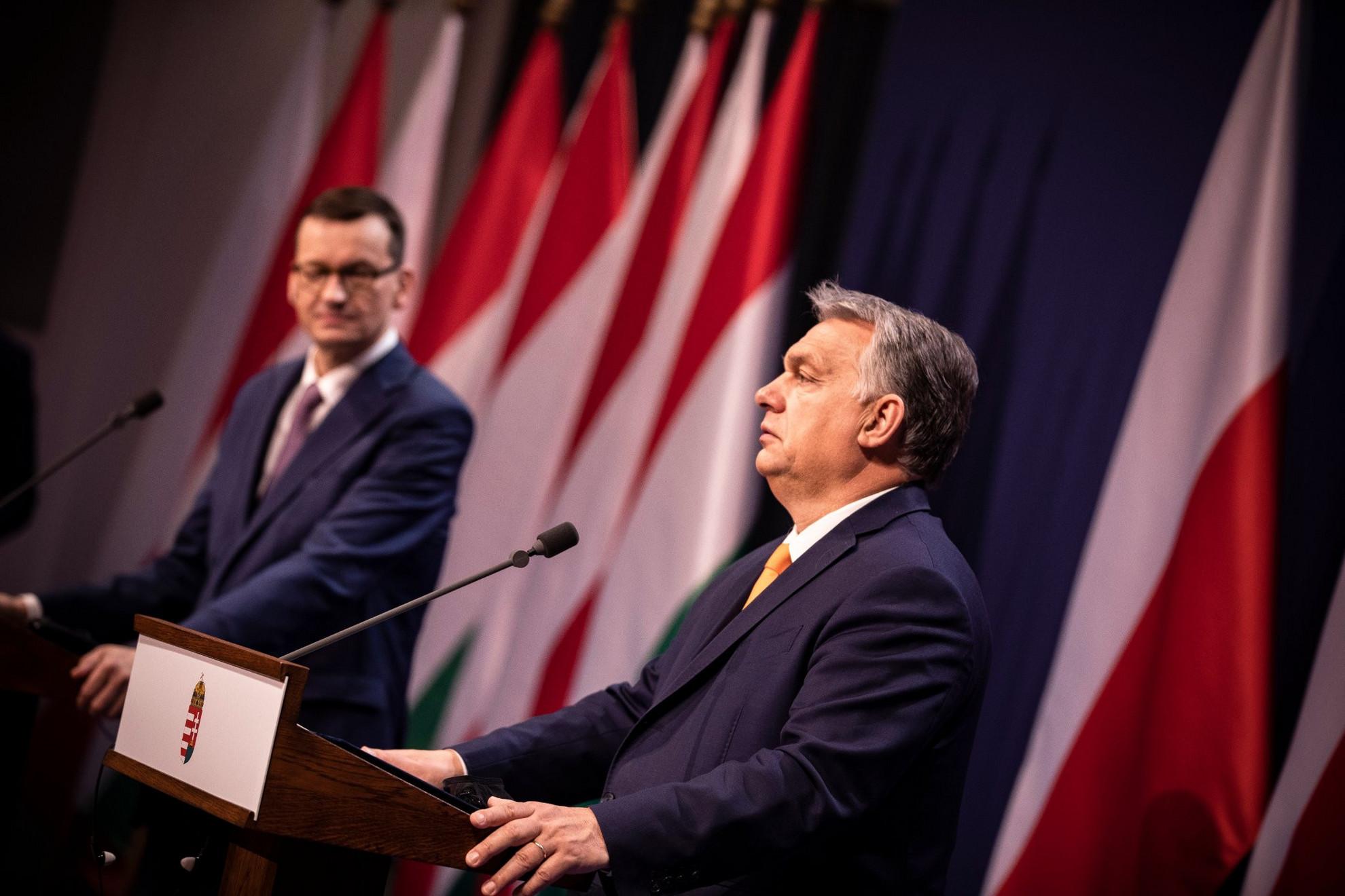 Tárgyalásuk napirendjén az EU költségvetésének ügye szerepelt, ami ellen Magyarország és Lengyelország is vétót emelt