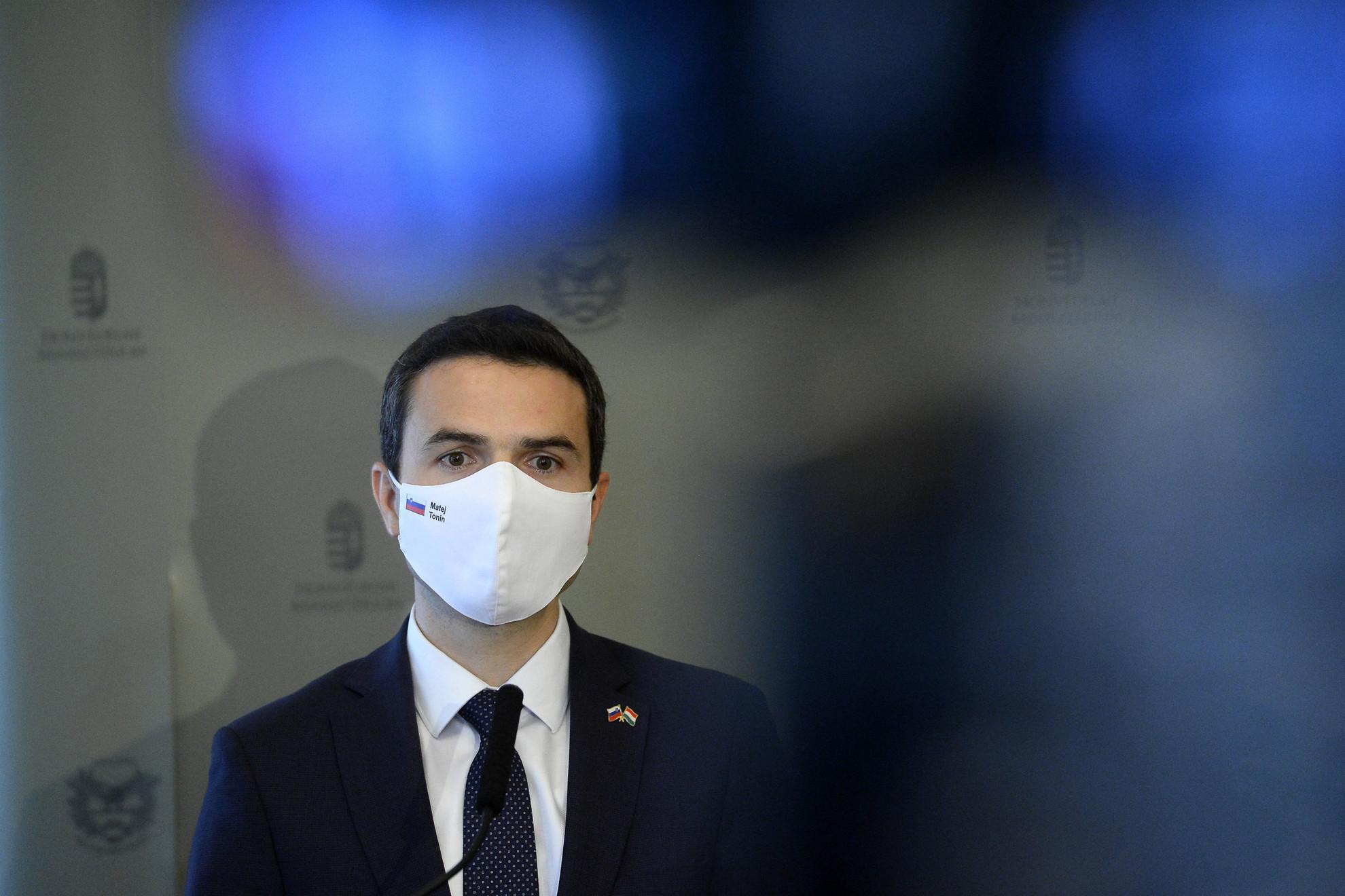 Matej Tonin szlovén védelmi miniszter