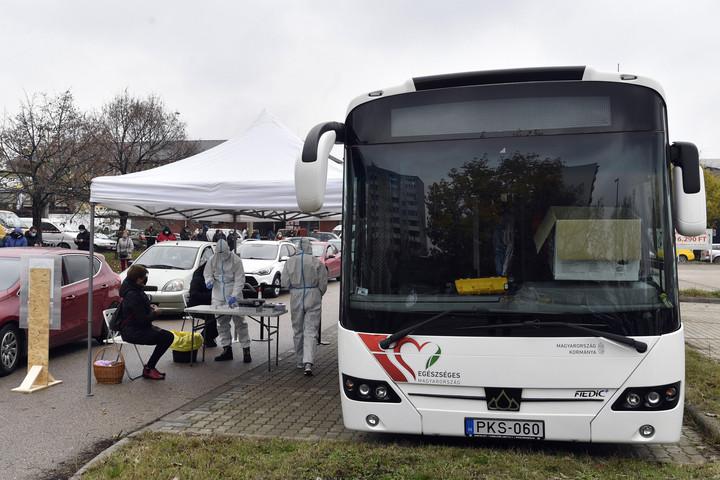 Szűrőbuszok is közreműködnek a tesztelésben