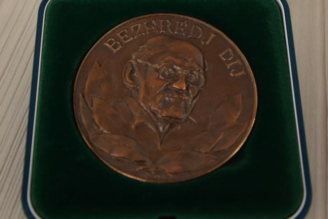 Ligeti Dávid kapta az idei Bezerédj-díjat