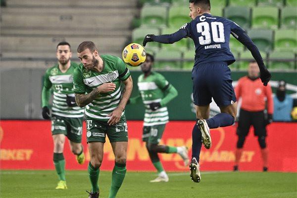 A házigazda Ferencváros legyőzte az MTK csapatát