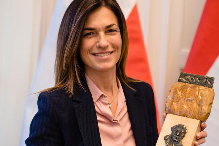 Varga Judit: Megtiszteltetés, hogy első magyarként vehettem át az Értékek Őre díjat