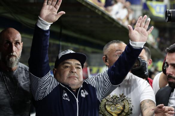 Vérrögöt találtak Maradona agyában, műteni kell az argentin legendát