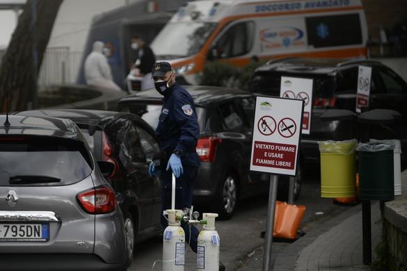 A járványhelyzet ellenőrizhetetlenné vált Olaszországban