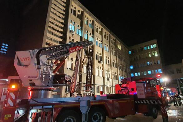 A betegeit menteni próbáló hős román orvos testének 40 százaléka megégett