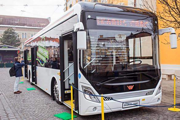 Nyíregyházára ért a Zöld Busz Program