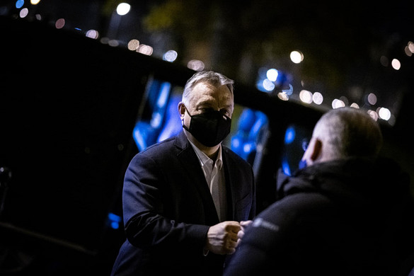 Orbán Viktor ma is az operatív törzs ülésén kezdte a napot