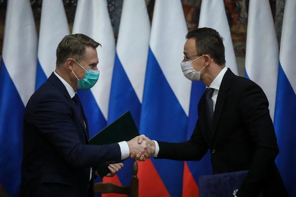 Szijjártó: A cél, hogy minél gyorsabban vakcinához jussanak a magyarok