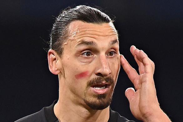 Megsérült a két gólt szerző Ibrahimovic Nápolyban