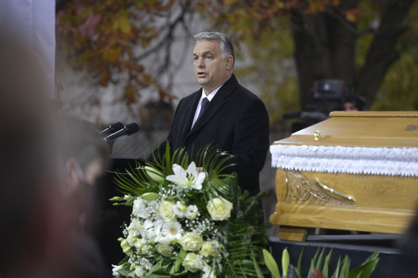 Orbán Viktor: Szőcs Géza megtanította, a hatalmat a legnagyobb dolgokra kell használni