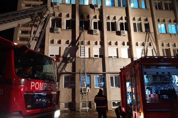 Tűz ütött ki egy romániai kórház intenzív osztályán, sokan meghaltak
