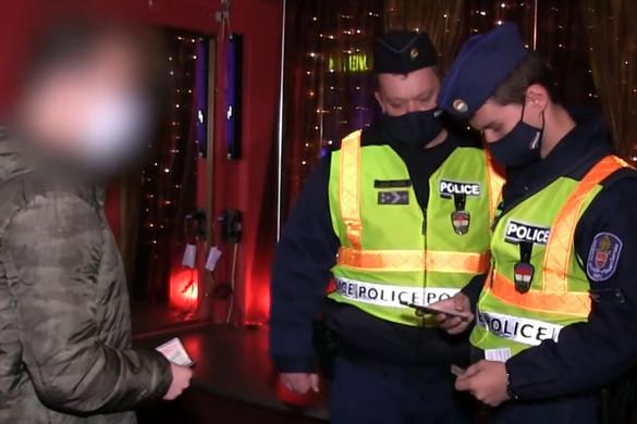 Kilenc szórakozóhelyet zárattak be a rendőrök Budapesten
